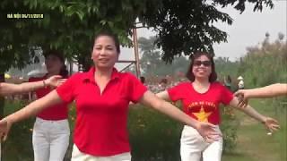 Chào Em Cô Gái Lam Hồng   Bài Thể Dục Dưỡng Sinh Thu Hút Hàng Triệu Trái Tim.