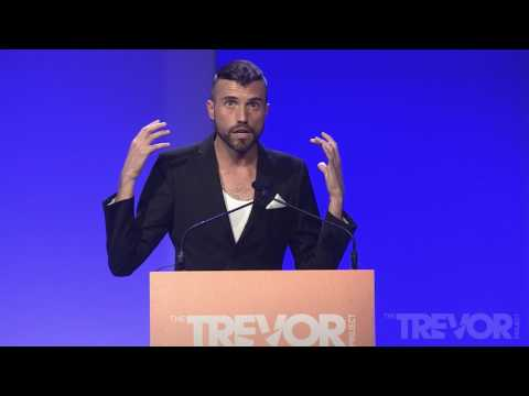 TrevorLIVE NY 2017: Tyler Glenn presents 2017 Hero Award to Dan Reynolds of Imagine Dragons