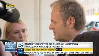 Tusk wyjaśnia propagandzistkę TVPiS ws. likwidacji TVP Info