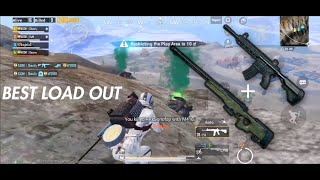 Probably one of the  best loadout in PUBG MOBILE