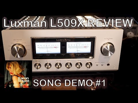 Luxman L509X Integrated HiFi Amplifier Review Song Demo + Chord Qutest KEF Reference JPlay