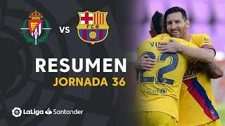 El FC Barcelona logra los 3 puntos del Nuevo José Zorrilla gracias al gol de Arturo Vidal en la primera parte del partido #RealValladolidBarça J36 LaLiga Santander 2019/2020  Suscríbete al canal oficial de LaLiga Santander en HD http://goo.gl/Cp0tC Subscribe to the Official Channel of LaLiga in High Definition http://goo.gl/Cp0tC  LaLiga Santander on YouTube: http://goo.gl/Cp0tC LaCopa on YouTube: http://bit.ly/1P4ZriP LaLiga SmartBank on YouTube: http://bit.ly/1OvSXbi Facebook: https://www.facebook.com/laliga Twitter: https://twitter.com/LaLiga Instagram: https://instagram.com/laliga Google+: http://goo.gl/46Py9