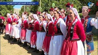 Деревня Наволок приняла юбилейный фестиваль «Хоровод традиций»