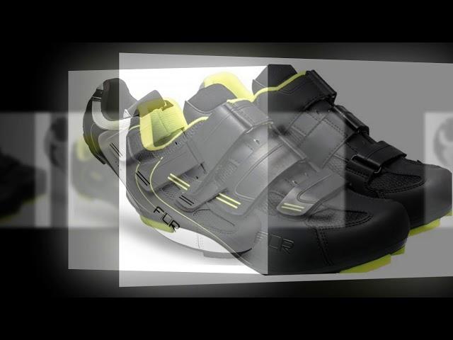 Видео Велотуфли FLR F-35 черные