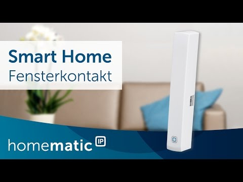 Fenster- und Türkontakt einfach erklärt   Homematic IP