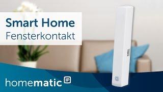 Fenster- und Türkontakt - einfach erklärt | Homematic IP