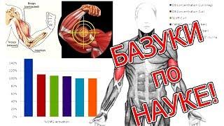 БАЗУКИ по НАУКЕ - ТОП Самых эффективных упражнений на бицепс!