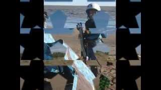 preview picture of video 'Comienzos de un raider de punta alta en el kite con solo 9 años'