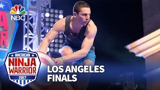 Josh Levin at the Los Angeles Finals - American Ninja Warrior 2017