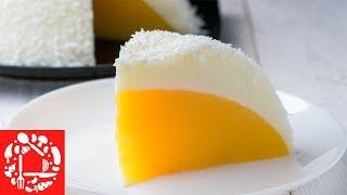 """Торт-десерт БЕЗ ВЫПЕЧКИ """"Яйцо Страуса"""" за 15 минут 🥚 Удивите своих гостей необычным рецептом торта!"""