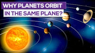 Why Planets Orbit In The Same Plane!
