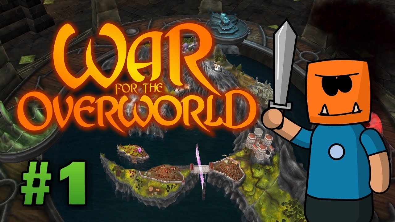 War for the Overworld ep1 | Walkthrough Let's Play