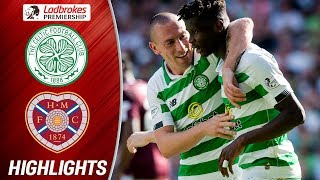 Celtic 3-1 Hearts | Bayo Bags Double for the Champions | Ladbrokes Premiership