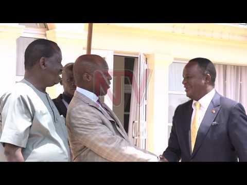 Raila Odinga asisinkanye Kabaka Mutebi