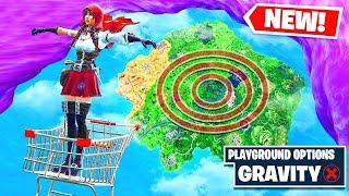 *NEW* T-POSE EMOTE + LOW GRAVITY = FLYING Glitch in Fortnite Battle Royale!
