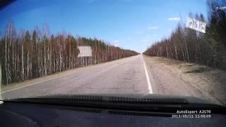 Смотреть онлайн Смертельное ДТП из-за ямы на дороге
