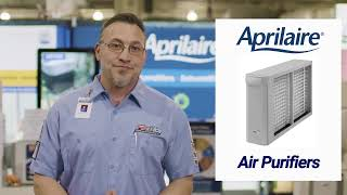 Aprilaire Whole-House Air Cleaner Overview With Josh