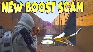 *NEW SCAM* Boost Map Scam! (Scammer Gets Scammed) Fortnite Save The World