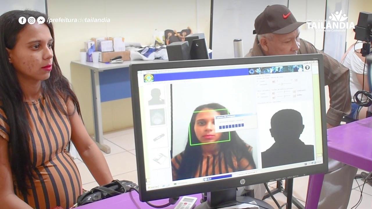 O recadastramento biométrico é obrigatório – Prefeitura de Tailândia