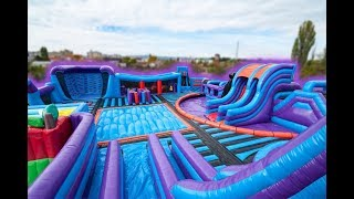 Airquee's Inflata Nation Inflatable Theme Park