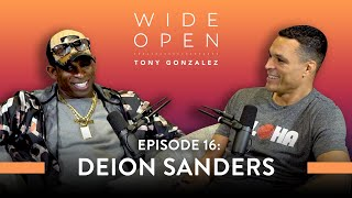 Deion Sanders on How to Stay Relentlessly Focused While Doing It All | Wide Open with Tony Gonzalez
