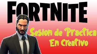 Juan Wick [ John Wick ] Fortnite Training Sesh