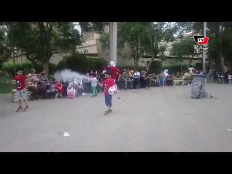 أقبال المواطنين على الحدائق والمنتزهات في ثاني أيام عيد الفطر