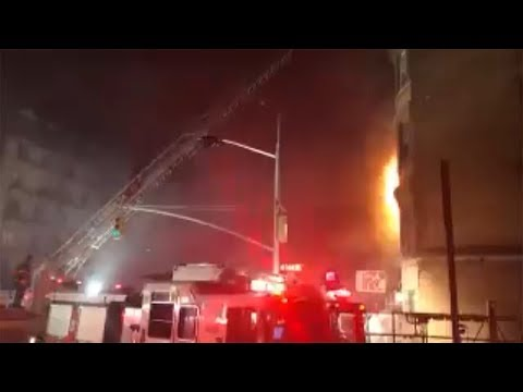 FDNY firefighter dies on movie set in Harlem