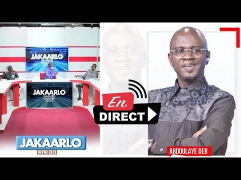 ?TFM LIVE : Jakaarlo Bi avec Abdoulaye Der et sa Team ?TFM LIVE : Jakaarlo Bi avec Abdoulaye Der et sa Team