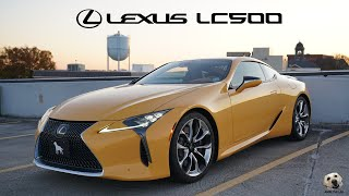 2020 Lexus LC500: Andie the Lab Review!
