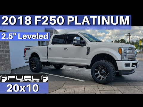 2018 Ford F250 ReadyLIFT 2.5 on 20x10s and 35's