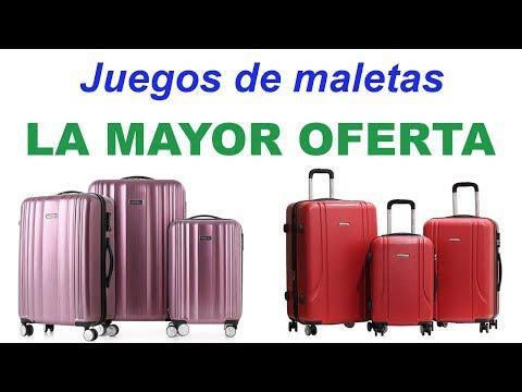 Juego de maletas| La mayor oferta en juegos de maletas
