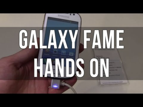 Samsung Galaxy Fame S6810 hands-on review