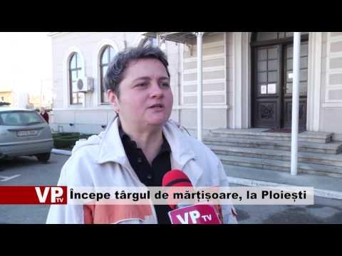 Începe târgul de mărțișoare, la Ploiești