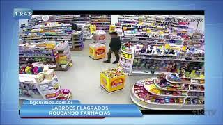 Quatro pessoas são presas suspeitas de praticar 40 assaltos a farmácias em Curitiba