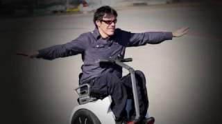 Silla de ruedas electrica genny. Autoequilibrio