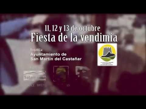 San Martin del Castañar - Fiesta de la Vendimia 2014 - Video de Promoción