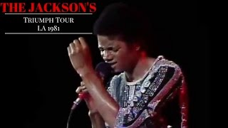 The Jackson's Triumph Tour Live in L.A (MJ.CTE Remaster)