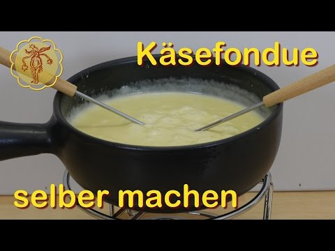 Käsefondue selber machen