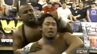 Taz Vs Tajiri ECW On TNN 09 03 99