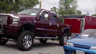 preview picture of video '2010 OK Tire car and bike show in North Bay Ontario Canada'