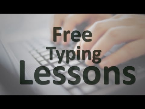 Free Typing Lessons - YouTube
