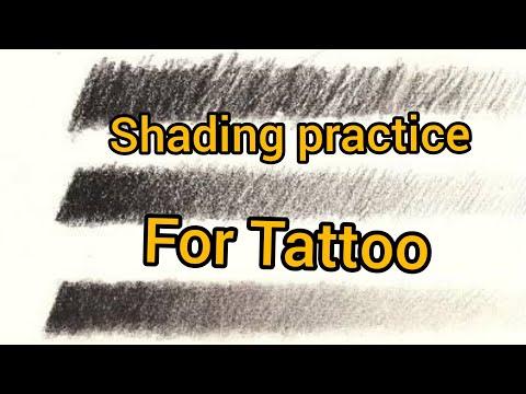 tattoo shading practice  | tattoo training  | | part 10 |