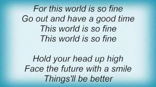 Aaron Neville - Why Worry Lyrics