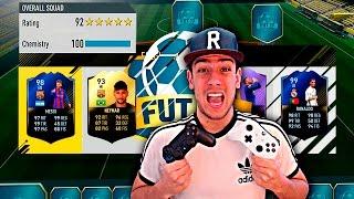 FUT DRAFT DE 192 VALORACIÓN VOY A POR TI !!! - FIFA 17