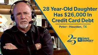 28 Year Old Daughter Has $26,000 In Credit Card Debt