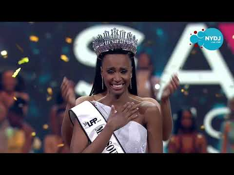 Crowning Moments! Zozibini Tunzi Crowned Miss South Africa 2019