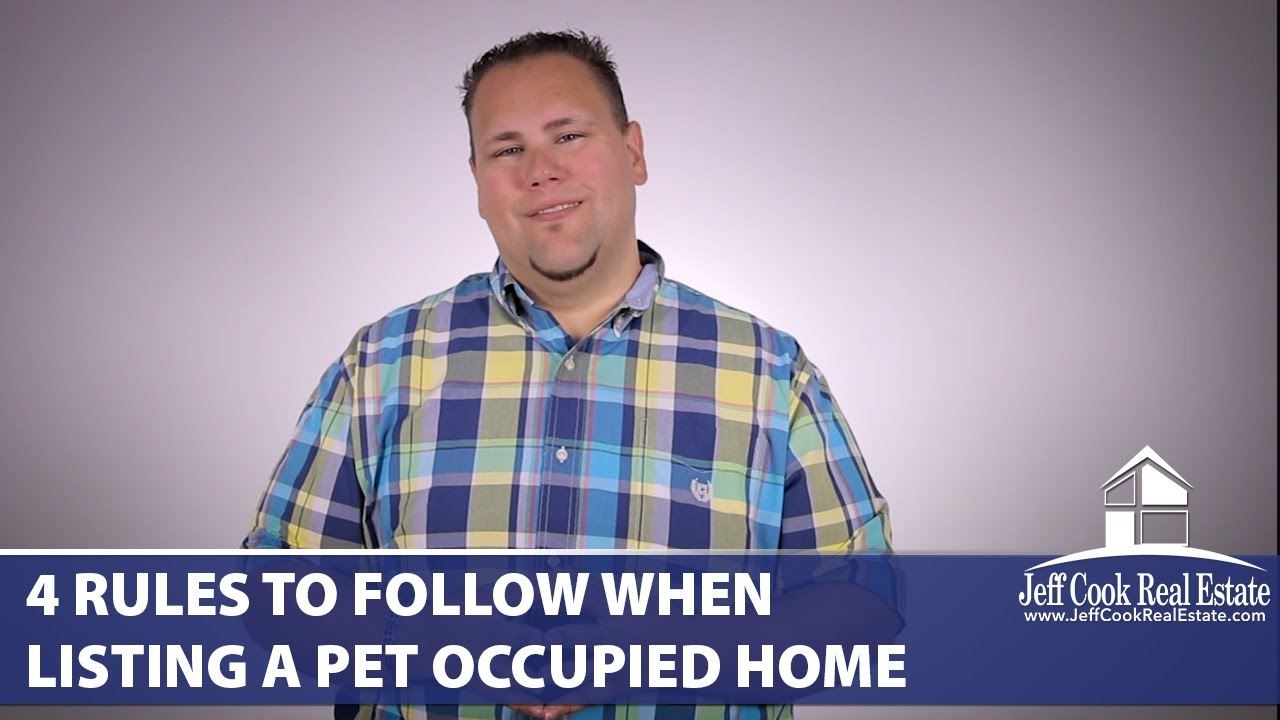 Pet Owner? Follow These 4 Rules When Listing