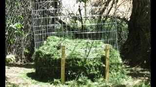 How To Build A Backyard Compost Bin
