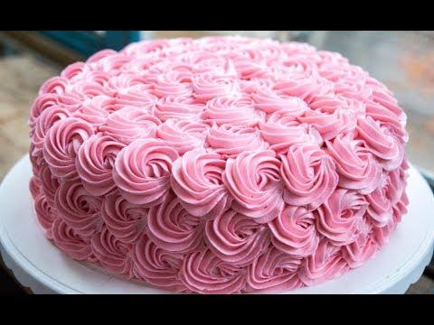 Крем Шарлотт Декор торта кремом Шарлотт